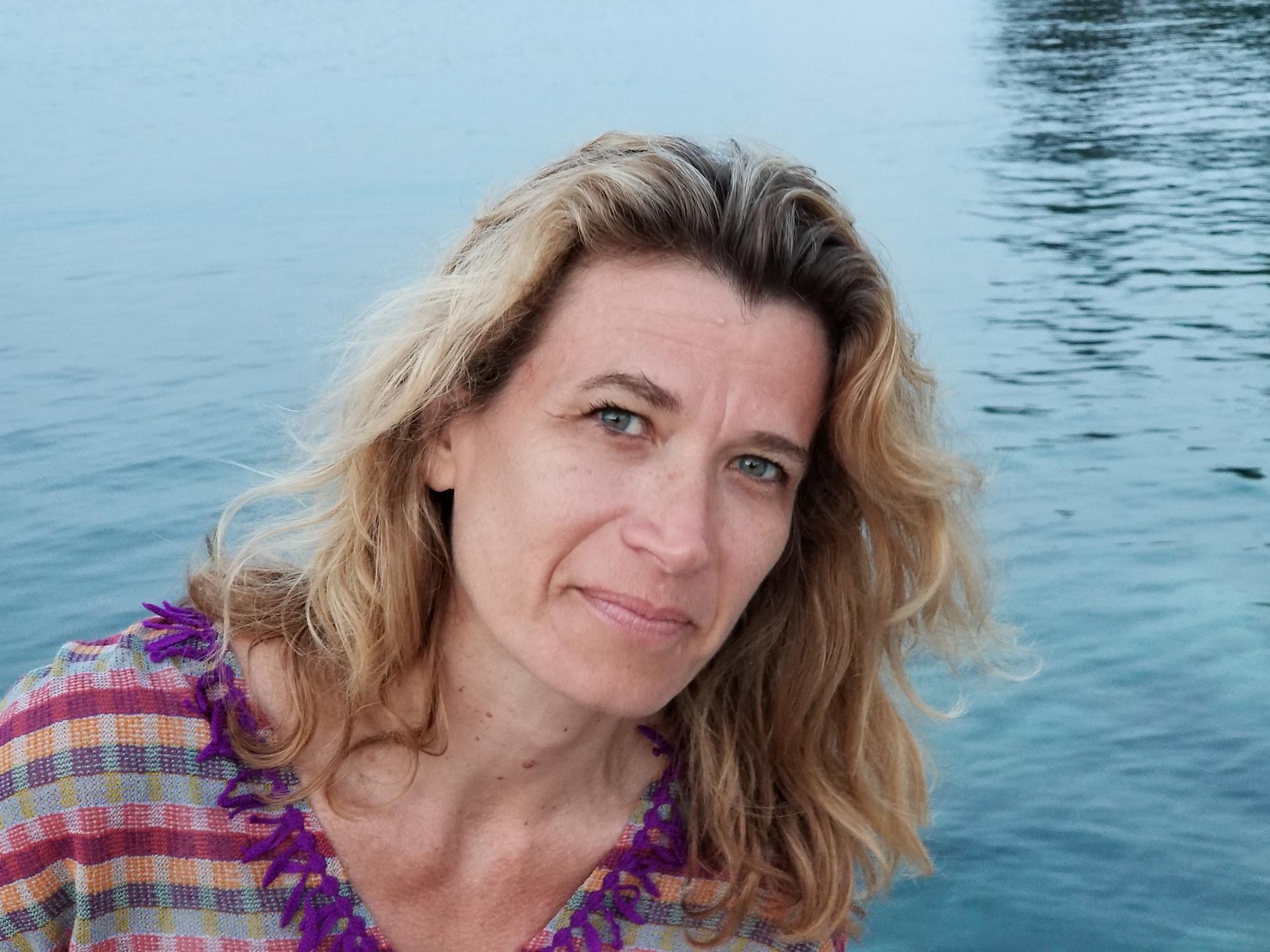 Isabelle Garron, le mot est politique.